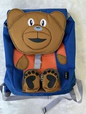 LL Bean Bear Toddler Backpack Pre School Boys Blue Discontinued