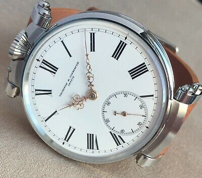 Wristwatch 45mm with Vintage  Movement by Vacheron & Constantin Marriage !!!