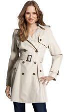 STEFANEL - Long trench coat with belt light beige - 16 (UK) - 48 (IT) RPR £250