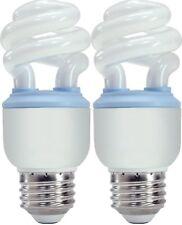 GE Reveal CFL 10-Watt T3 Spiral Light Bulb with Medium Base (2 Pack)