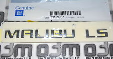 2014-2015 Chevrolet Malibu Rear Compartment Lid Chrome Emblem new OEM 23169902