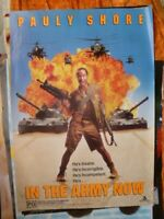 IN THE ARMY NOW PAULY SHORE   1 SHEET  MOVIE POSTER