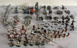 VINTAGE Star Wars Micro Machines Action Fleet Mini Figures Galoob LOT Of (90)