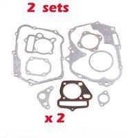 Qiilu Motorcycle Engine Gasket Kit Engine Gasket Kit Fit for YX 140cc YCF SSR Piranha Pitster IMR Pit Dirt Bike YX140