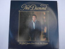 Neil Diamond ‎– I'm Glad...With Me Tonight LP, Aus, NM