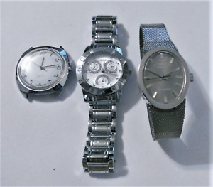 Vintage Watch Lot All Need Batteries