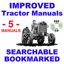 Ford 941 971 981 Tractor Service Parts Catalog Owners Manual 5 Manuals 1953 64
