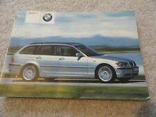 2003 BMW 325i and 325xi Wagon Owners Manual