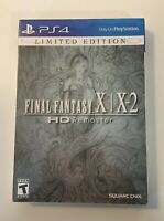 Final Fantasy X/X-2 HD Remaster - Limited Edition (Sony PlayStation 4, 2015) NEW