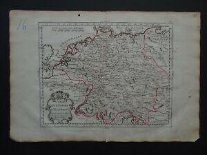 1791 J B NOLIN  Atlas map  GERMANY - German Empire - L'Empire Allemagne
