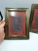 Lovely Pair Of Vintage Silver Plated Photo Frames RC Sheffield 22 cm  x 18 cm