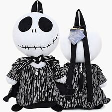 "Tim Burton Jack Skellington 18""-19"" Plush Backpack Tote-Licensed Product--NEW!"