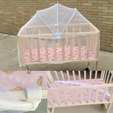 Baby Cradle Bed Safe Mesh Mosquito Net Canopy Tent Toddler Crib Cot Bed Netting