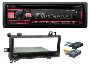 ALPINE CD Receiver Stereo Android/MP3/WMA/USB/AUX For 1997-02 JEEP WRANGLER TJ