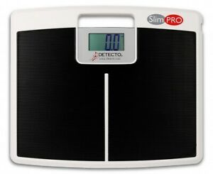 NEW Detecto SlimPro Portable Electronic Home Bath Weigh Scale