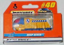 MATCHBOX 2000 MATTEL WHEELS WINDOW BOX #40 DEEP DIVER