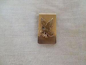 Nice gold tone Eagle money clip