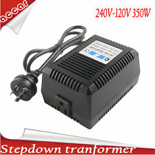 350W Sinewave Step Down Transformer Electric Voltage Converter 240V-120V 110V AC