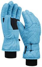 Women Winter Sports Snow Warm Ski Gloves Waterproof 3M Thinsulate Mittens