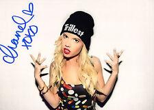 GFA Singer/Ridiculousness Host CHANEL WEST COAST Signed 8x10 Photo EJ4 COA