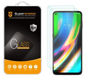 [2-Pack] Supershieldz Tempered Glass Screen Protector for Motorola Moto G9 Plus