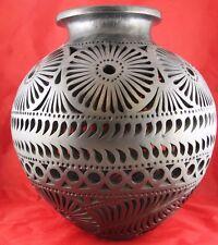Vintage 1960s-1970s Mexico Mexican Oaxaca Barro Negro Pottery
