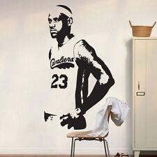 Lebron James Wall Decal Sticker Decor Cleveland Cavaliers Wall Art Mural