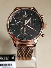 Reloj Cronógrafo compañero de Hugo Boss De Hombre HB1513548 esfera negra.