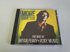 CD: Bryan Ferry & Roxy Music - More Than This - The Best Of