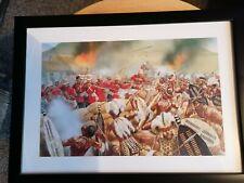 Zulu Rorkes Drift Battle Framed Print