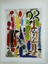 Pablo Picasso Das Atelier Vintage Print on Heavy Gloss Paper