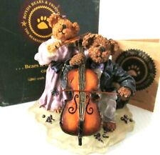 "Boyds Bears ""Amanda And Michael. String Section"" ~(First Edition)~ #228366"