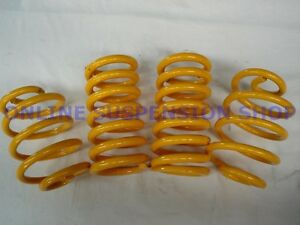 Ultralow Front & Rear KING Springs to suit Holden HQ HJ HX HZ V8 Sedans