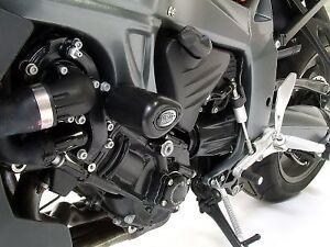 R&G Racing PAIR AERO CRASH  PROTECTORS for  BMW K1300R (2009) CP0251BL