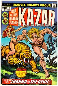 Ka-Zar Issue 2