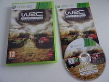 WRC FIA WORLD RALLY CHAMPIONSHIP - Jeu Microsoft XBOX 360 - COMPLET