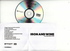 IRON AND WINE The Shepherd's Dog UK 12-trk numbered/watermarked promo test CD