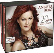 Andrea Berg - 20 Jahre Abenteuer (4 CDs) Bekannt aus der TV-Werbung! NEUWARE