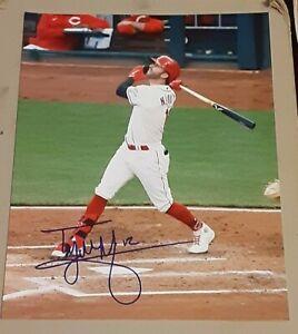 Tyler Naquin Cincinnati Reds SIGNED AUTOGRAPHED 8x10 Photo COA Baseball MLB