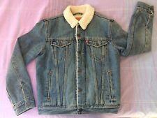 Levis Vintage Style Sherpa jacket Size S