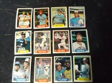 lot of 1982 Fleer baseball 12 HOFs  Winfield Carlton Fisk Carter Seaver Bench E
