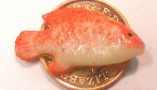 1:12 Scale Single Polymer Clay Fish For A Dolls House Kitchen Shop Accessories J