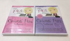 A Lot Of 2 MY Pink Stamper, Cricut Fun Vols. 1 & 2, DVD, New and Sealed, Free Sh