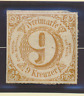 Thurn and Taxis Stamp Scott #63, Unused, No Gum, Hinge Remnant