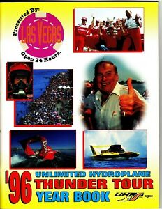 1996 Thunder Yearbook, unlimited hydroplanes