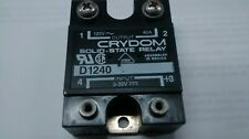 Crydom Solid State Relay D1240 120 VOLT