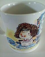 Russ Berrie Secretary Design Around Coffee Cup Mug