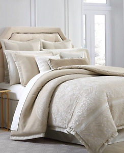 CHARISMA BELLISSIMO QUEEN 4 PIECE DUVET SET MSRP $560 NEW IN OPENED PACKAGE