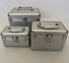 NEW Makeup Train Case, 3 Sizes Available & Set Of 3 & Full Set Bundle Discount