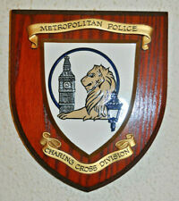 More details for metropolitan police charing cross division wall plaque shield constabulary